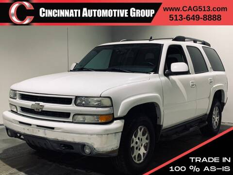 2006 Chevrolet Tahoe for sale at Cincinnati Automotive Group in Lebanon OH