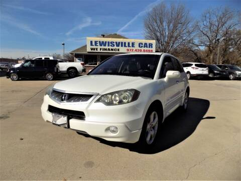 2009 Acura RDX for sale at Lewisville Car in Lewisville TX