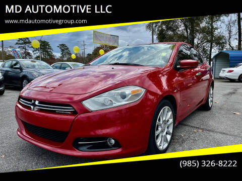 2014 Dodge Dart for sale at MD AUTOMOTIVE LLC in Slidell LA