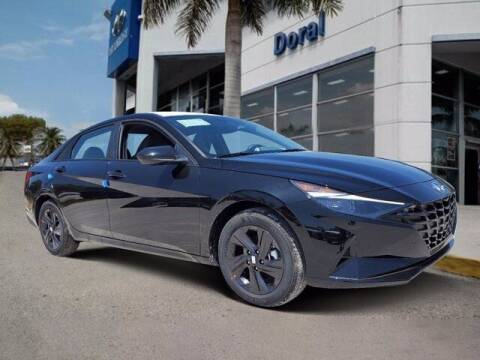 2021 Hyundai Elantra Hybrid for sale at DORAL HYUNDAI in Doral FL