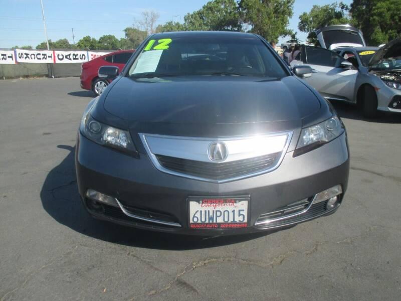2012 Acura TL for sale at Quick Auto Sales in Modesto CA