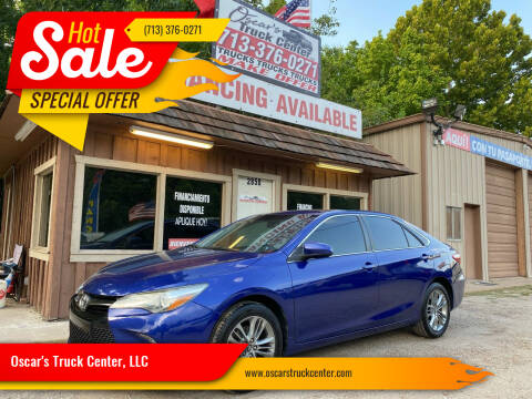 2015 Toyota Camry for sale at Oscar's Truck Center, LLC in Houston TX