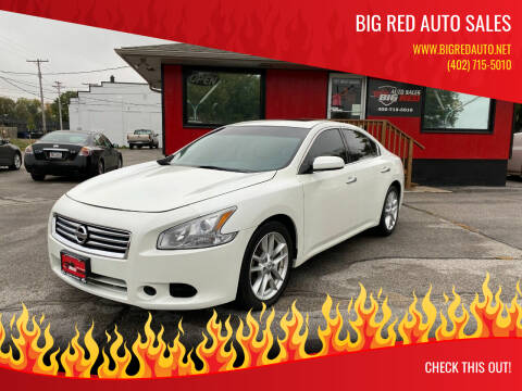 2013 Nissan Maxima for sale at Big Red Auto Sales in Papillion NE