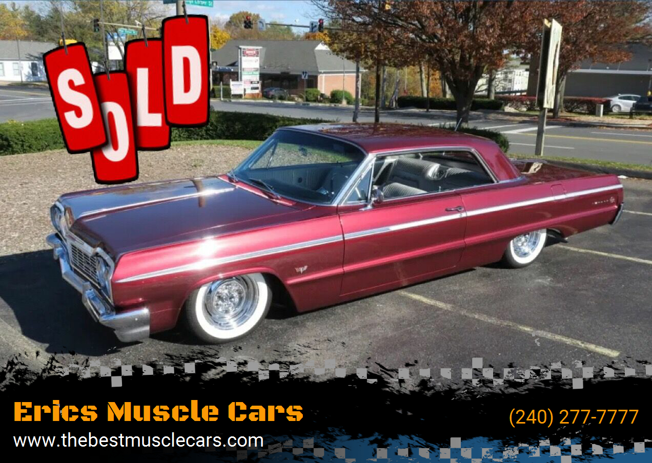 1964 Chevrolet Impala SS SOLD SOLD SOLD
