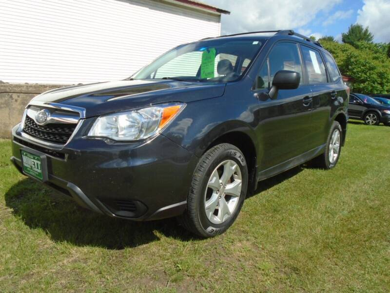 2016 Subaru Forester for sale at Wimett Trading Company in Leicester VT