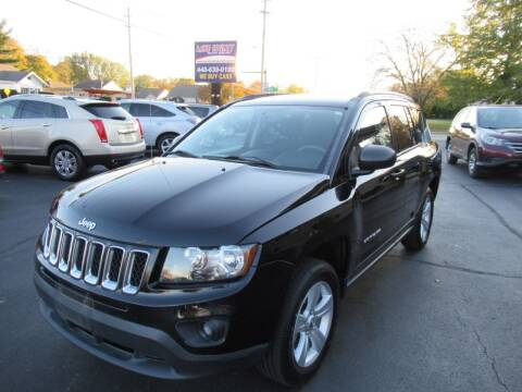 2016 Jeep Compass for sale at Lake County Auto Sales in Painesville OH