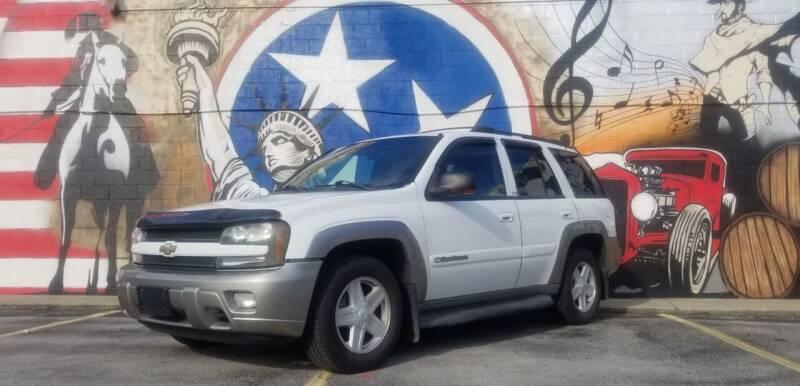 2002 Chevrolet TrailBlazer for sale at G T Auto Group in Goodlettsville TN