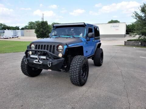 2010 Jeep Wrangler for sale at Image Auto Sales in Dallas TX