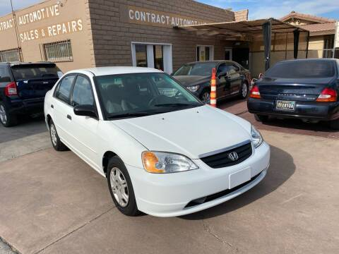 Honda Civic for sale at CONTRACT AUTOMOTIVE in Las Vegas NV