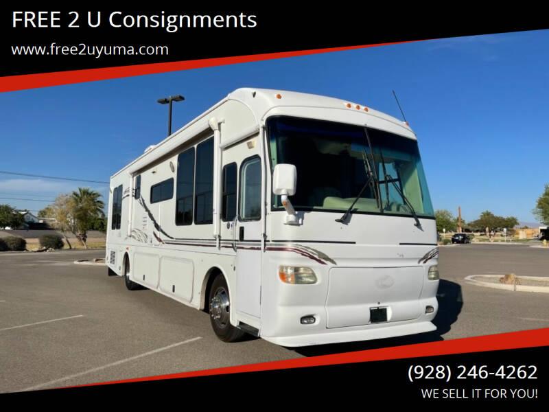 2007 Alfa See Ya for sale at FREE 2 U Consignments in Yuma AZ