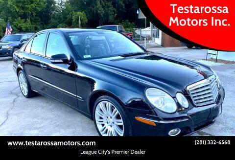 2007 Mercedes-Benz E-Class for sale at Testarossa Motors Inc. in League City TX