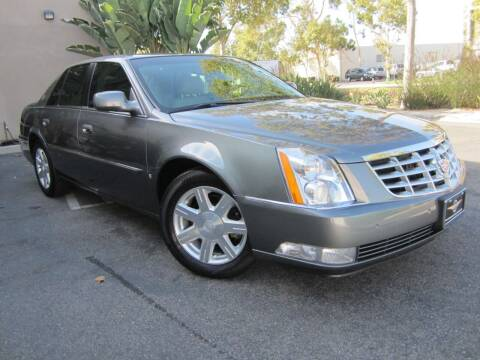2007 Cadillac DTS for sale at ORANGE COUNTY AUTO WHOLESALE in Irvine CA