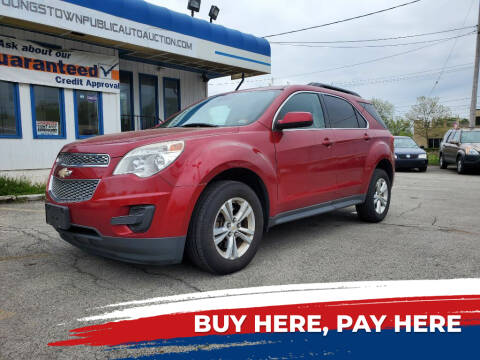 2013 Chevrolet Equinox for sale at E.L. Davis Enterprises LLC in Youngstown OH