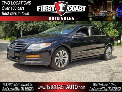 2012 Volkswagen CC for sale at 1st Coast Auto -Cassat Avenue in Jacksonville FL