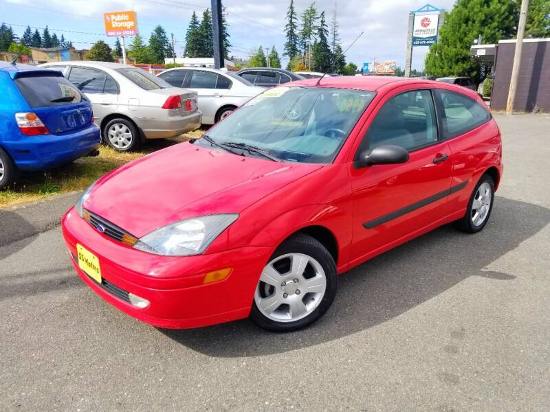 2004 Ford Focus for sale at SS MOTORS LLC in Edmonds WA