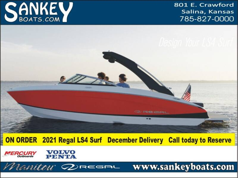 2021 Regal LS4 Surf for sale at SankeyBoats.com in Salina KS