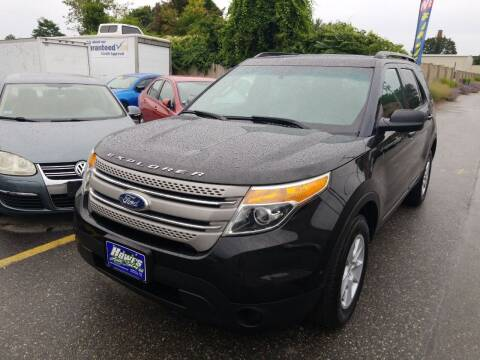 2012 Ford Explorer for sale at Howe's Auto Sales in Lowell MA