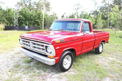 1971 Ford F-100 for sale at Classic Car Deals in Cadillac MI
