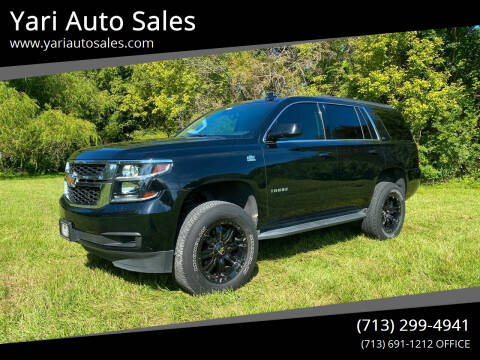 2016 Chevrolet Tahoe for sale at Yari Auto Sales in Houston TX
