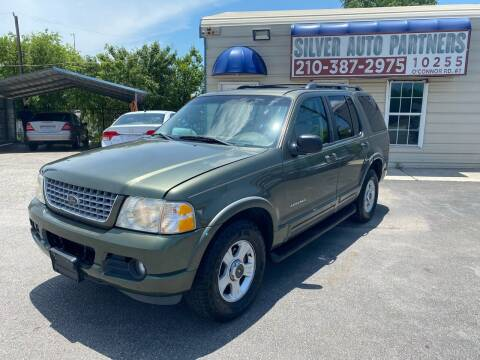 2002 Ford Explorer for sale at Silver Auto Partners in San Antonio TX