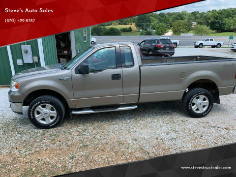 2004 Ford F-150 for sale at Steve's Auto Sales in Harrison AR