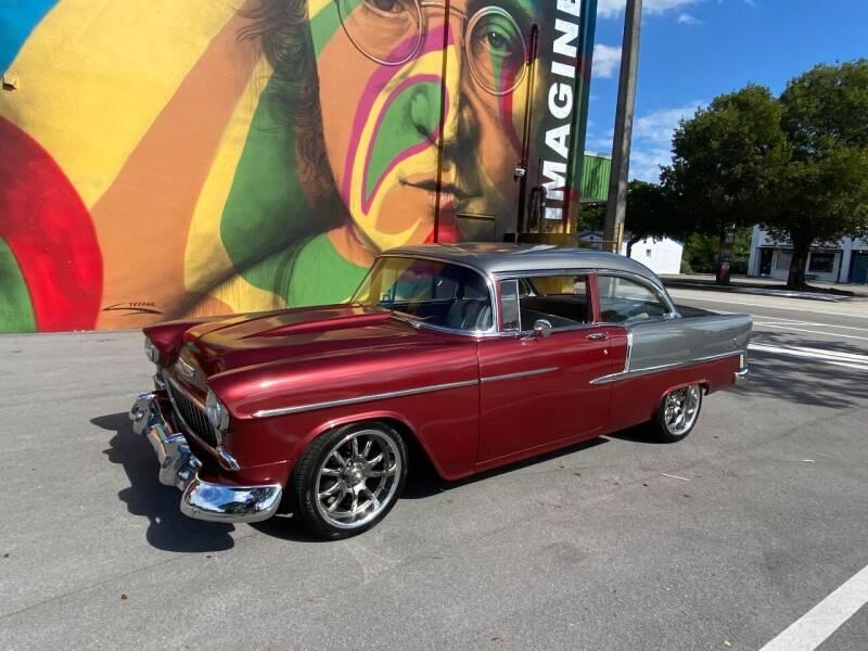 1955 Chevrolet Bel Air for sale at BIG BOY DIESELS in Ft Lauderdale FL