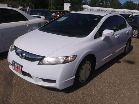 2009 Honda Civic for sale at L & J Motors in Mandan ND
