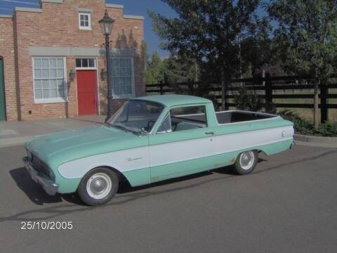 1960 Ford Ranchero for sale at Classic Car Deals in Cadillac MI
