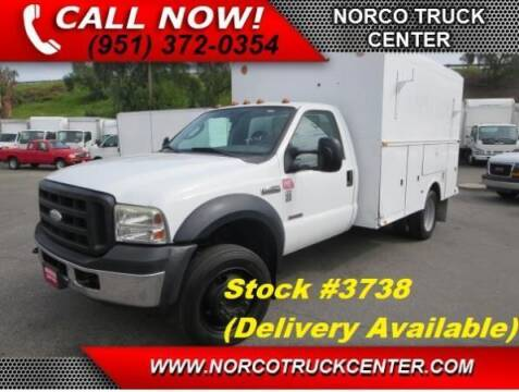 2007 Ford F-450 Super Duty for sale at Norco Truck Center in Norco CA