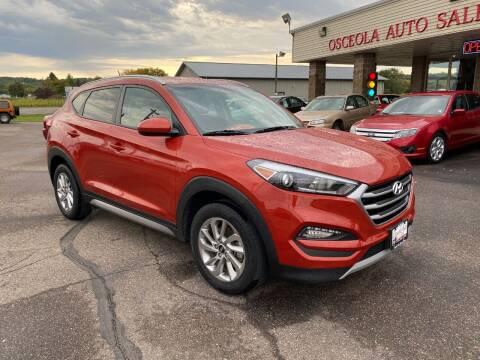 2017 Hyundai Tucson for sale at Osceola Auto Sales and Service in Osceola WI