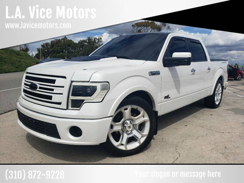 2011 Ford F-150 for sale at L.A. Vice Motors in San Pedro CA