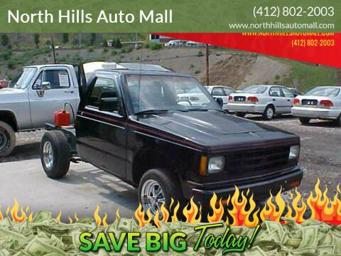 1984 Chevrolet S-10 for sale at North Hills Auto Mall in Pittsburgh PA