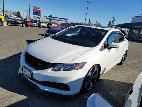 2015 Honda Civic for sale at Artistic Auto Group, LLC in Kennewick WA