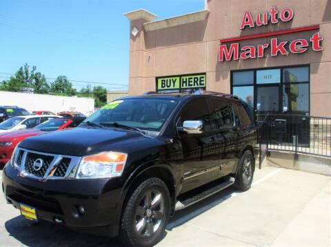 2013 Nissan Armada for sale at Auto Market in Oklahoma City OK