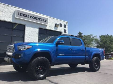 2017 Toyota Tacoma for sale at High Country Motor Co in Lindon UT