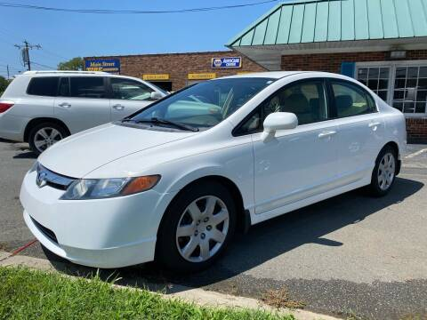 2008 Honda Civic for sale at Main Street Auto LLC in King NC