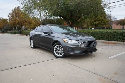 2019 Ford Fusion for sale at Legacy Autos in Dallas TX