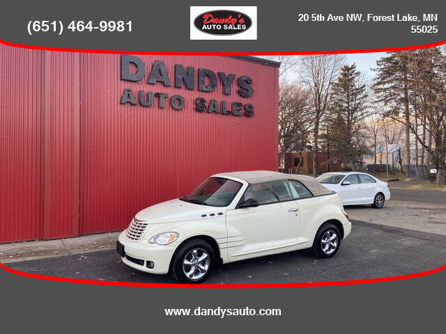 2008 Chrysler PT Cruiser for sale at Dandy's Auto Sales in Forest Lake MN