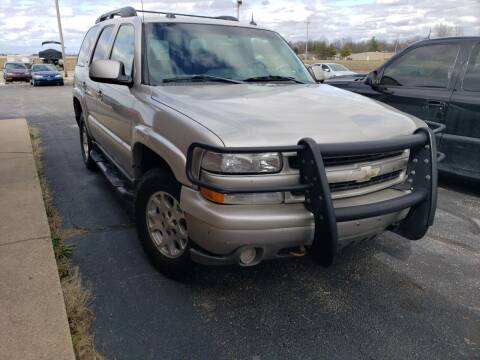 2005 Chevrolet Tahoe for sale at Taylorville Auto Sales in Taylorville IL