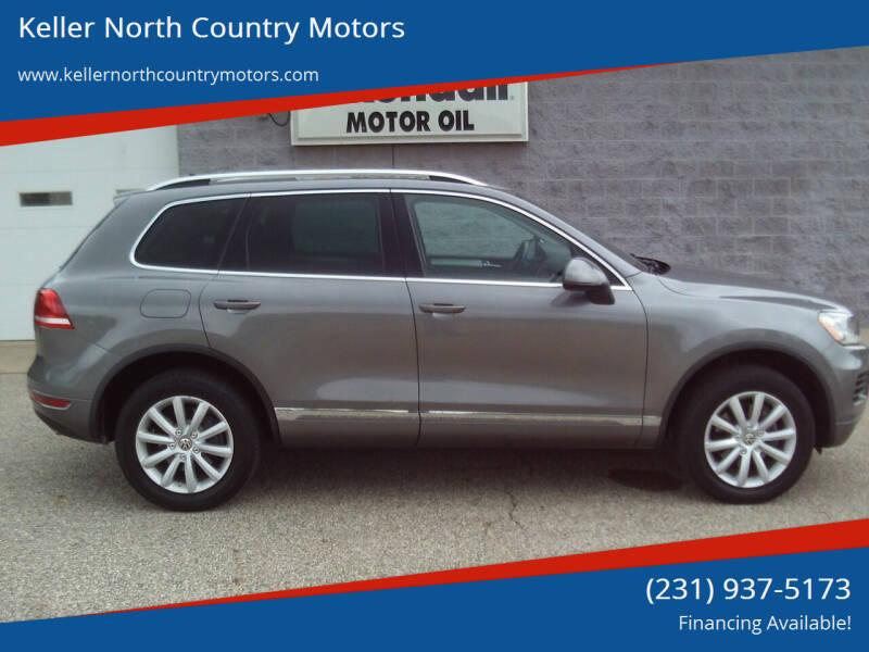 2011 Volkswagen Touareg for sale at Keller North Country Motors in Howard City MI
