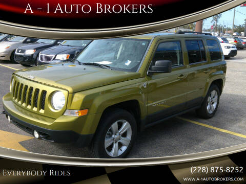 2012 Jeep Patriot for sale at A - 1 Auto Brokers in Ocean Springs MS