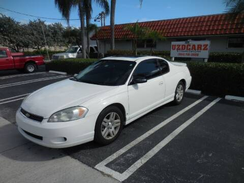 2007 Chevrolet Monte Carlo for sale at Uzdcarz Inc. in Pompano Beach FL