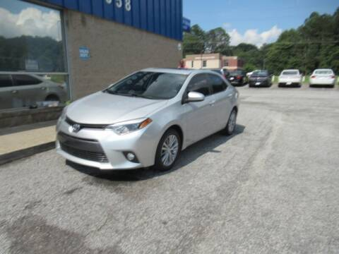 2015 Toyota Corolla for sale at Southern Auto Solutions - 1st Choice Autos in Marietta GA