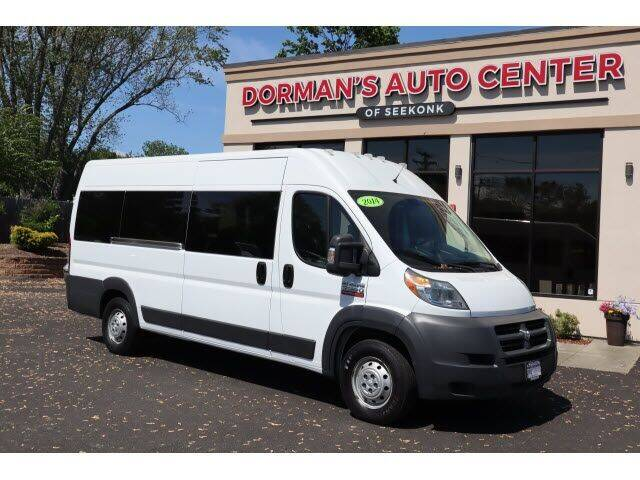 2014 RAM ProMaster Cargo for sale at DORMANS AUTO CENTER OF SEEKONK in Seekonk MA
