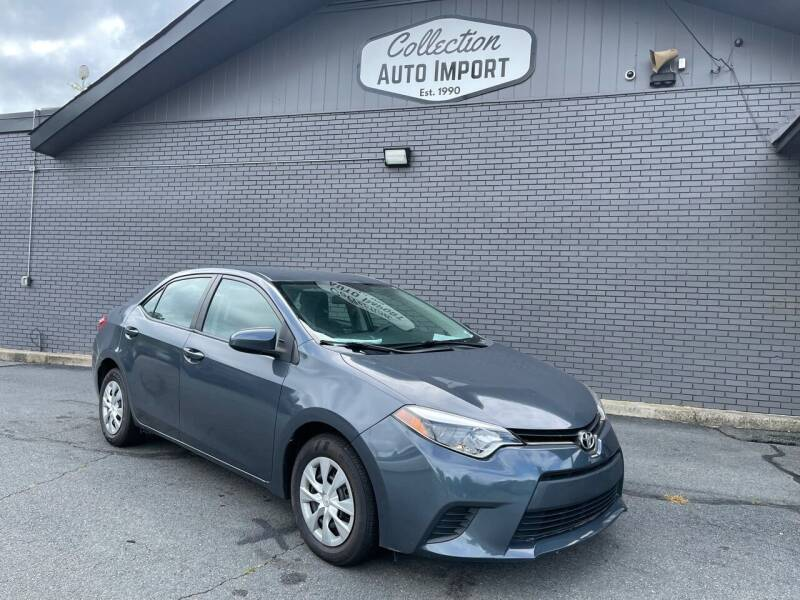 2014 Toyota Corolla for sale at Collection Auto Import in Charlotte NC