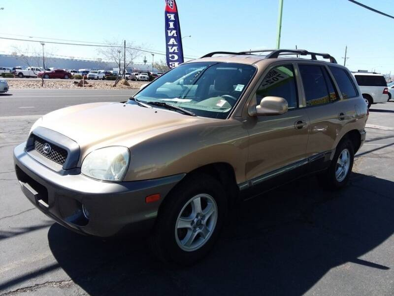 2004 Hyundai Santa Fe for sale at ALOHA USED CARS in Las Vegas NV