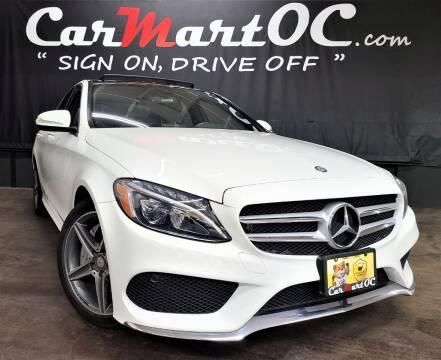 2015 Mercedes-Benz C-Class for sale at CarMart OC in Costa Mesa, Orange County CA