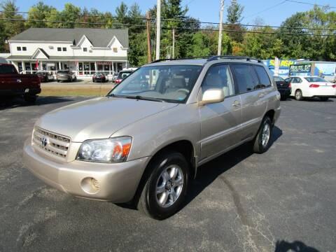 2006 Toyota Highlander for sale at Route 12 Auto Sales in Leominster MA