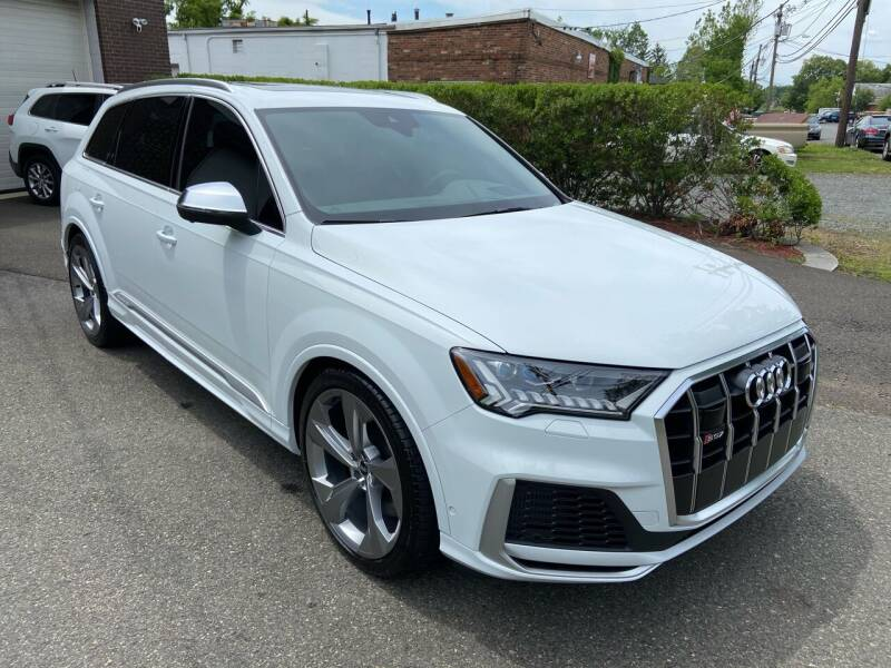 2021 Audi SQ7 for sale at International Motor Group LLC in Hasbrouck Heights NJ