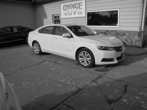 2018 Chevrolet Impala for sale at Choice Auto in Carroll IA